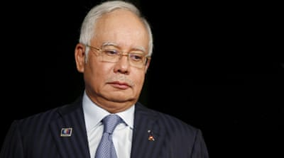 1MDB, whose advisory board is chaired by Najib, has amassed a debt of more than $11bn [Olivia Harris/Reuters]