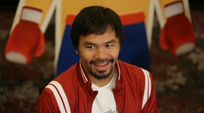 Pacquiao underwent surgery to repair a torn rotator cuff after the loss to Mayweather [Reuters]