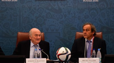 FIFA chief Blatter and Platini given provisional bans