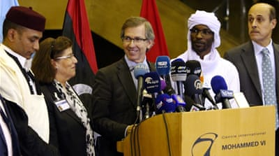 The special UN envoy for Libya, Bernardino Leon, announced the proposal on October 8 [AP]