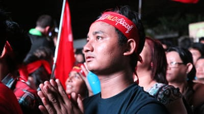 Myanmar's opposition moves towards big election victory