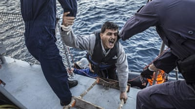 Saving lives in the Aegean Sea
