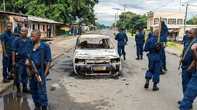 Post-election crisis escalates in Burundi