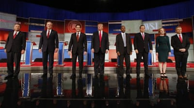 Candidates disagreed on how to deal with China and Russia [Jeffrey Phelps/AP]