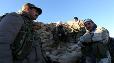Kurdish officials say about 7,500 Peshmerga fighters are taking place in the operation [Reuters]