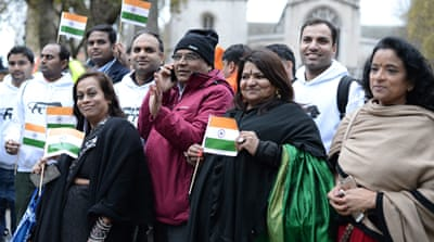 British Indians divided over Modi's UK visit