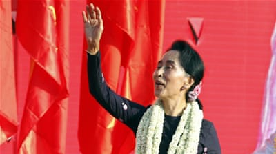 Aung San Suu Kyi's party sweeps Myanmar polls