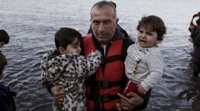 Syrian refugees in Greece despair of peace
