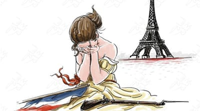 Arab cartoonists pick up their pens for Paris