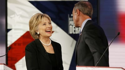 Foreign policy dominates Democratic debate