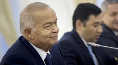 President Islam Karimov has been criticised for targeting Muslims who attend non-government approved mosques [Reuters]