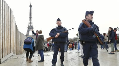 Hollande said that 'Barbarians who want to disfigure France will never succeed' after deadly attacks in Paris [Stephane de Sakutin/Reuters]