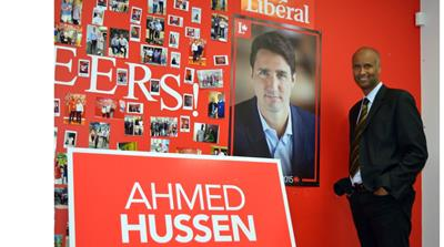 From Somali refugee to Canadian MP