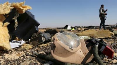 Russia plane crash over Sinai