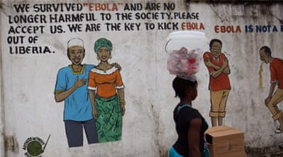 Since the beginning of the outbreak, Liberia has registered more than 10,600 cases and more than 4,800 deaths [EPA]