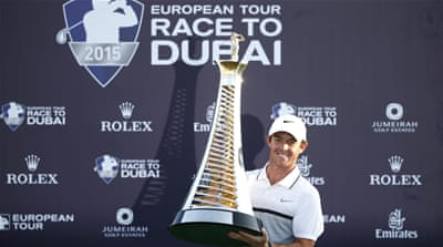 McIlroy tops money charts after Dubai win