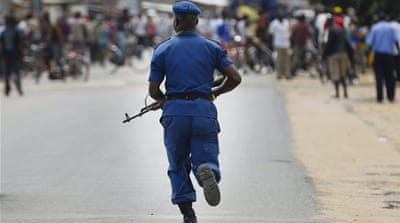 Burundi has been in political crisis since President Nkurunziza announced a bid to run for a third term in April 2015 [EPA]