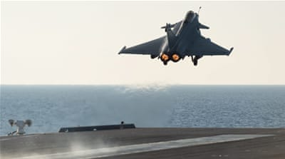 France launches strikes against ISIL in Iraq and Syria