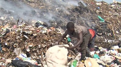 Recycling in Kenya turns rubbish into cash