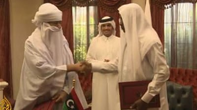 Rival Libyan tribes sign ceasefire deal in Doha