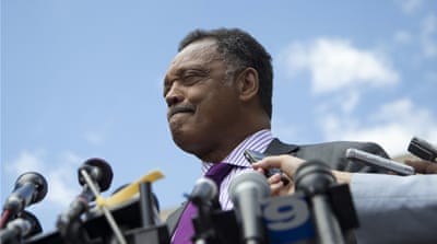 Jesse Jackson speaks out against Islamophobia