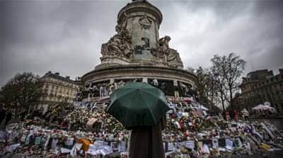 Many Parisians are still coming to terms with the massacres that killed 130 people [EPA]