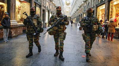 Brussels has continued its lockdown for another week for security purposes [Reuters]