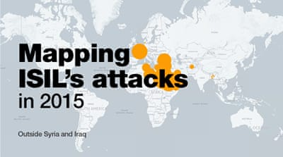 Mapping ISIL's attacks in 2015