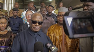 President of Mali: peace process will not be derailed