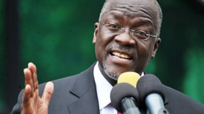 Bah humbug in Tanzania as president cancels Xmas cards