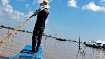 Cambodia's 'beating heart' and climate change disaster