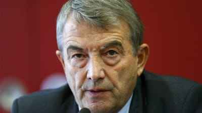 Investigators also searched the house of DFB president Wolfgang Niersbach [Ralph Orlowski/Reuters]