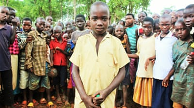Unaccompanied child refugees flee Burundi