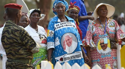 Pope brings unity message to CAR