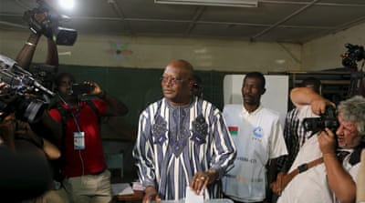Ex-PM Kabore takes early lead in Burkina Faso election