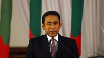 Maldives has had a difficult transition to democracy since holding its first multiparty election in 2008 [AP]