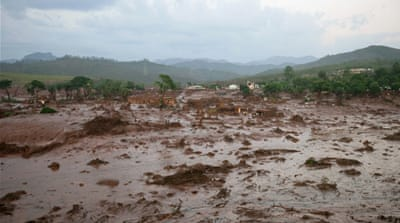 Civil defence authorities in Mariana said about 600 people were being evacuated to higher ground [EPA]