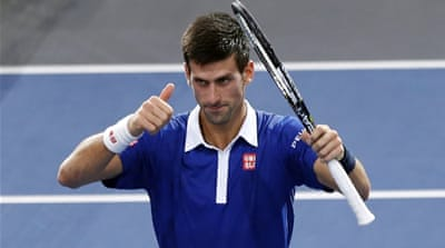 Record-chasing Djokovic to face Murray in Paris final