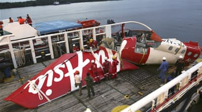 'Broken' part and crew response caused AirAsia crash