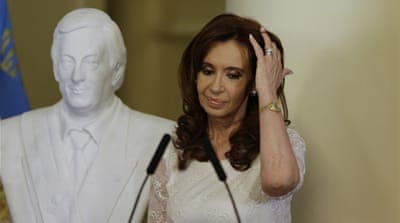 Argentina ex-leader to face trial over alleged bombing cover-up