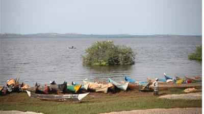 Lake Victoria provides a livelihood for many residents of the village of Maluba [Kizito Gamba/Al Jazeera]
