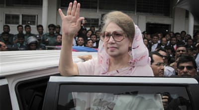 Khaleda Zia jailed for five years in corruption case