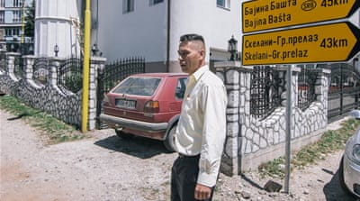 Elvir Hafizovic walk for 78 days to reach safety from Srebrenica  [Marcel van Mars]