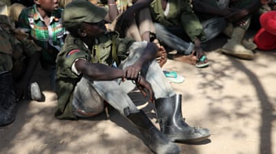 UNICEF says 15,000 child soldiers have fought in the two-year civil war [Katy Migiro/Reuters]