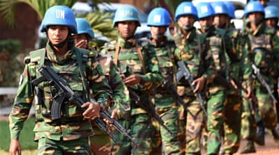 CAR hosts a 11,000-strong UN peacekeeping mission [Daniel Dal Zennaro/EPA]