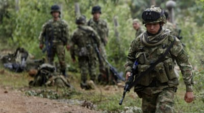 Colombia: 9 FARC dissidents killed in bombing raid
