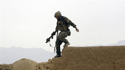 There are currently around 9,800 US troops in Afghanistan [EPA]