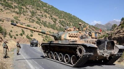 A ceasefire between Turkey and the PKK collapsed last July followed by a major military campaign on Kurdish rebels [Reuters]