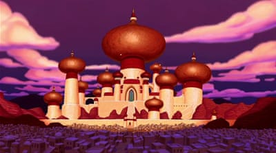 Satire as US voters support bombing Aladdin's Agrabah