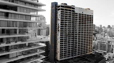 The scars of war on Lebanon's Holiday Inn